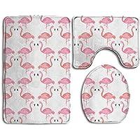 Baby Badteppich 3 Teiliges Badezimmer Teppich Set Marmor Print