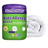 Slumberdown Anti Allergy 10.5 Tog Duvet - King Size, White