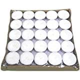 Crazy Sutra 100 Pcs Pack Of Tea Light Candles Smokeless 2.5 To 3.5 Hrs Burning