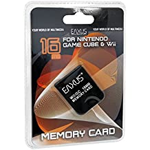 Eaxus Memory Card Nintendo WII & Game Cube [Import allemand]
