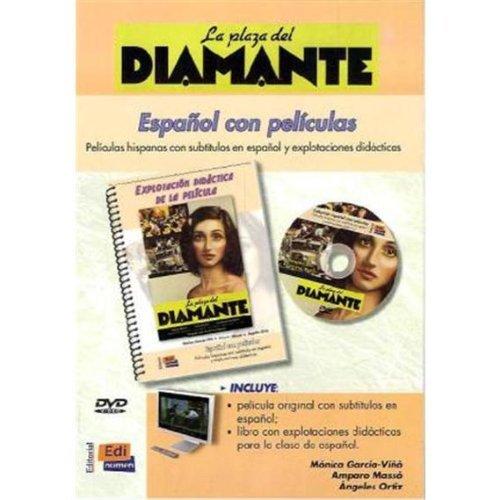 Español con películas: La plaza del diamante [DVD + libro] [Spanien Import] - Espanolas Peliculas