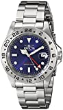 Stainless Steel Pro Diver Quartz GMT Blue Dial