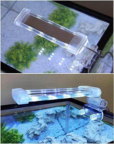 BPS® Lámpara Acuario LED Iluminación Luces Plantas