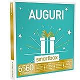 SMARTBOX - Cofanetto Regalo -AUGURI 1 esperienza a scelta tra soggiorni, gourmet, benessere e sport per 1 o 2 persone