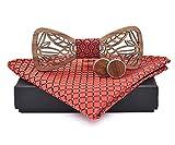 Gaira Pajarita de madera con pañuelo y gemelos 709035