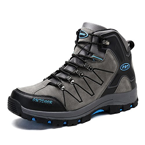 Chaussures de Randonnée Hautes Homme Bottes Trekking Outdoor Sport Sneakers pour Homme