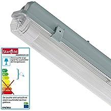 LED Mueller Light, luminaria de tubo 20800154 Promo, 950 lúmenes, de plástico, 10,0 vatios, gris, 65.0 x 7.4 x 8.7 cm