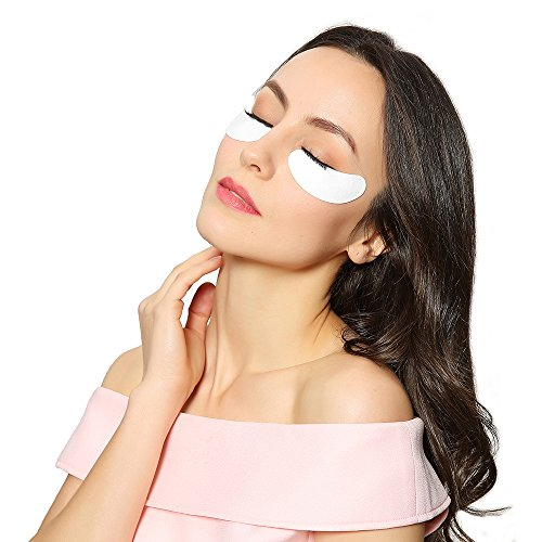 Beauty7 100 Paires Patchs Collagène Pour Extension de Cils Anti-Ride Eyepad