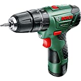 Bosch 603983972 PSB 10.8 LI-2 Cordless Lithium-Ion Hammer Drill Driver Featuring Syneon Chip (1 x 10.8 V Battery, 2.0 Ah)