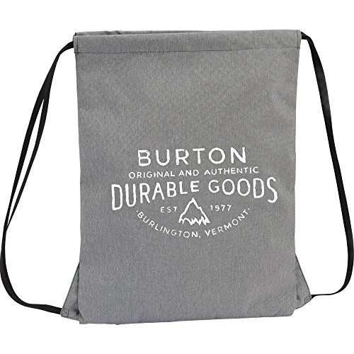Burton Gymbag CINCH BAG Grey Heather, 34.5 x 0.5 x 44 cm, 13 Liter
