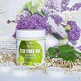 Premium Nature Antimykotische Tee-Baum-Körper & Fuß Peeling - 12 Oz 100% Natürliche Antibakterielle Exfoliator - Beste Pilzartige Behandlung Verhindert Akne Schuppen Schwielen Fußpilz Jock Itch