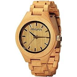 Holz Armbanduhr 360° Maple
