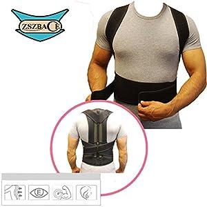 ZSZBACE Justierbarer Körperhaltung-Korrektor für Frauen u. Männer, Schlüsselbein-Stützklammer für die oberen rückseitigen Schmerz verbessern schlechte Haltung