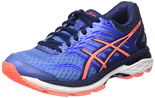 Asics Gt-2000 5, Scarpe Running Donna, Blu (Regatta Blue / Flash Coral / Indigo Blue), 39.5 EU