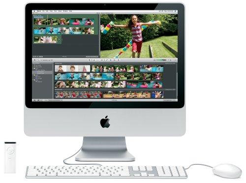 Preisvergleich Produktbild Apple MB323D / A iMac 50, 8 cm (20 Zoll) Desktop-PC (Intel Core 2 Duo 2, 4 GHz,  1GB RAM,  250 GB HDD,  DVD+- DL RW,  ATI Radeon HD 2400 XT)