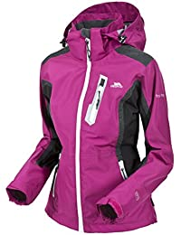 Trespass - Chaqueta impermeable con capucha desmontable modelo Amara para mujer