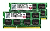 Transcend JetMemory DDR3 2 x 8GB 16GB DDR3 1600MHz memory module - memory modules (DDR3, Notebook, 512M x 8, 2 x 8 GB, Green, Macbook Pro Mac mini)
