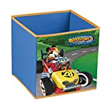 Disney Mickey Roadster Racers Seau conteneur pliable Panier à linge Garde jouets