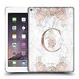 Head Case Designs Offizielle Nature Magick C Rosa Gold Marmor Monogramm Ruckseite Hülle für iPad Air 2 (2014)
