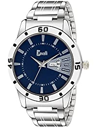 Cavalli Analogue Blue Dial Day and Date Men's & Boy's Watch - CSP12547
