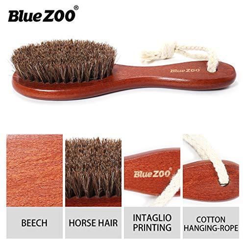 Männer Eberhaar-Borsten-Schnurrbart-Bürsten-männliche Körper-Bürsten-Schuh-Bürsten-Hautpflege ()