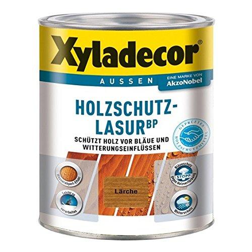 Xyladecor BP 2in1 Holzschutzlasur Dünnschicht-Lasur 1 Liter, Farbe:Ebenholz