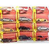 LOT de 36 voitures miniatures MAJORETTE PORSCHE BMW LAMBORGHINI PEUGEOT LEXU AKYLONE 1/64