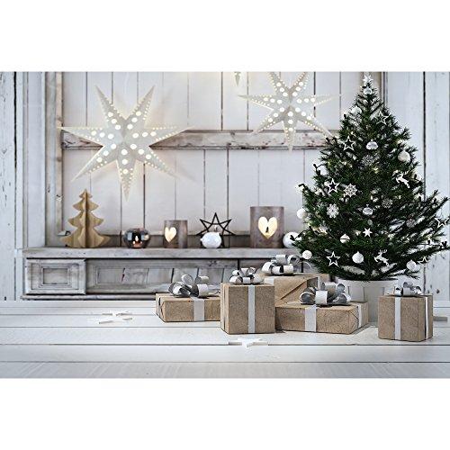NIVIUS PHOTO 150x220cm Weihnachten Fotografie Hintergrund Baum kulissen Hintergrund für Neugeborene Baby Kinder Foto Studio Prop XT-5669