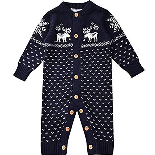 ZAMAC Baby Socken 6 Paare Weihnachten Kleinkinder Kleinkind Ausgewählte Baumwollsocken Set 1-10 Jahre Unisex Xmas Cute Socks (Blue Anzug Christmas)