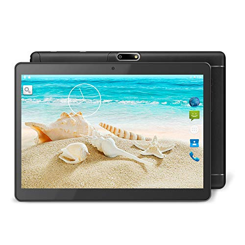 YUNTAB K98 9,6 Zoll Android-Tablet,MTK6580 1,3 GHz Quad Core,1 GB RAM+16 GB ROM,Android 5.1,IPS-Touchscreen,Dual-Kamera,Dual-SIM, 3G,GPS, WiFi,Bluetooth 4.0(schwarz) (Gb Tablet-android-16)