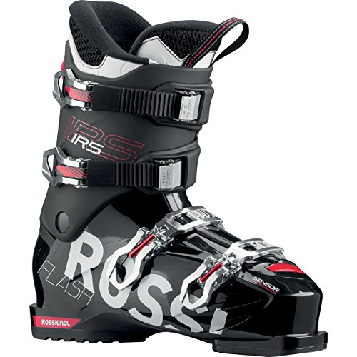 Rossignol-Schuhe Ski Flash IRS Rental-Black-Herren-Größe 48-Schwarz, schwarz