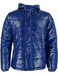 Bellfield Xenon Mens Puffa Jacket Deep Blue