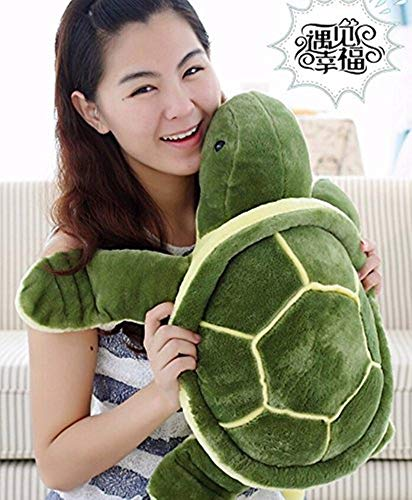 Piqant All Stuffed Plush Turtle Soft Toy (Green, S)