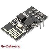 AZDelivery esp8266 ESP-01S WLAN WiFi Modul für Arduino und Raspberry Pi mit gratis eBook!