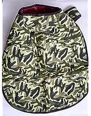 DOGISTA PET PRODUCTS Dog Coat Army Size 16, Medium