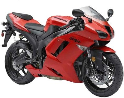 Maisto 1:12 Kawasaki Ninja ZX-6R Diecast Scale Bike