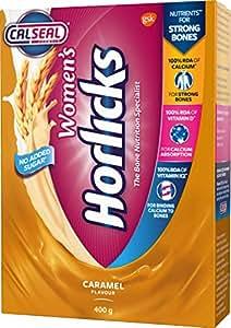Women's Horlicks Health & Nutrition drink - 400 g Refill pack (Caramel flavor)