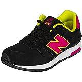 New Balance Damen-Sneakers WL 565 MY Suede/Mesh schwarz/pink 37