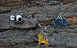 #4: Metal 3 Bracelet Charm - Tiger, Panda, Elephant