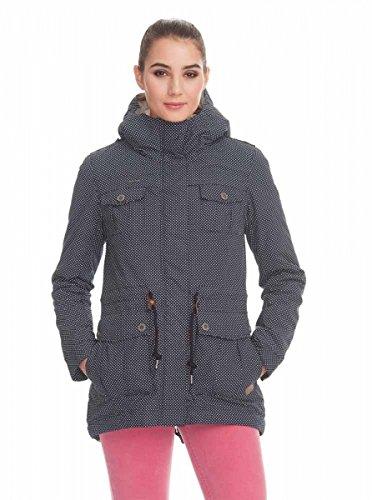 Ragwear Laika Minidots Women Jacke, Blau, Gr. XL