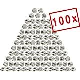 MAILUX SOD11301 GU10 Fassung | Sockel für GU10 LED und Halogen | Leuchtmittel (100 Stück) inkl. 15cm Kabel