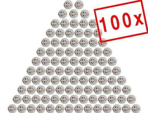 Preisvergleich Produktbild MAILUX SOD11301 GU10 Fassung | Sockel für GU10 LED und Halogen | Leuchtmittel (100 Stück) inkl. 15cm Kabel