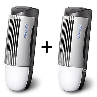 2 Stück Plasma Ionisator Luftreiniger CA-267 - Kein Filter Nachkauf!
