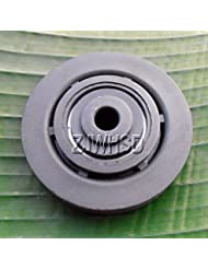 "Universal 73mm 3""nailon polea rueda Cable gimnasio Fitness equipo piezas de repuesto Abbott"
