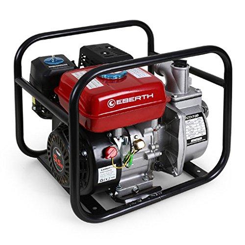 EBERTH 5,5 PS 2 Zoll Wasserpumpe Benzin Motor Pumpe thumbnail