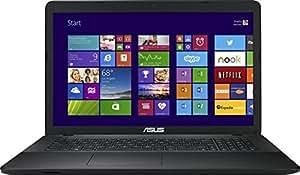 """Asus Polyvalence X751LD-TY052H PC portable 17.3"""" Noir (Intel Core i5, 4 Go de RAM, Disque dur 1 To, Nvidia Geforce GT820M, Windows 8)"""