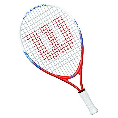 Wilson Tennisschläger Mädchen/Jungen, All Courter, US Open, Weiß/Blau