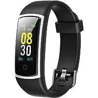YAMAY Fitness Armband mit Blutdruckmessung,Smartwatch Fitness Tracker mit Pulsmesser Wasserdicht IP68 Fitness Uhr…