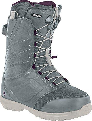 Nitro Snowboards Damen Boots Cuda TLS 16, Slate Grey/Purple, 24.0, 1161848355 (All Freeride Mountain Boot)