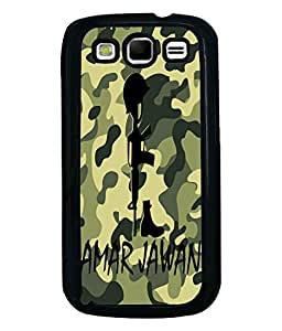 Fuson Millitary Pattern Back Case Cover for SAMSUNG GALAXY S3 - D3689
